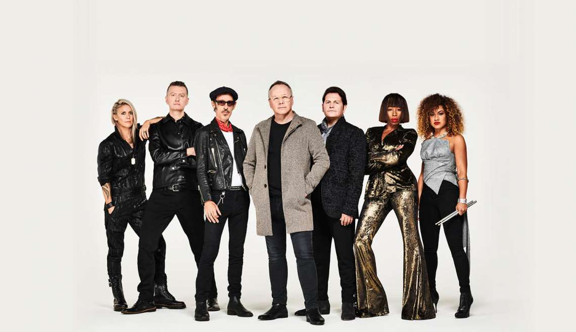 Simple Minds, 40 Years Of Hits Tour 2021